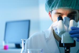 Изучение биоптата в лаборатории