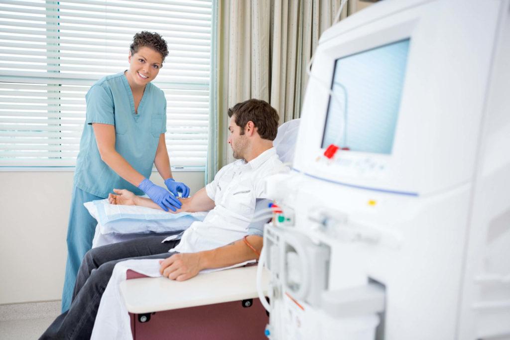 Проведение диализа в амбулаторных условиях