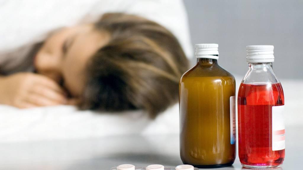Женщина, отравившаяся лекарствами