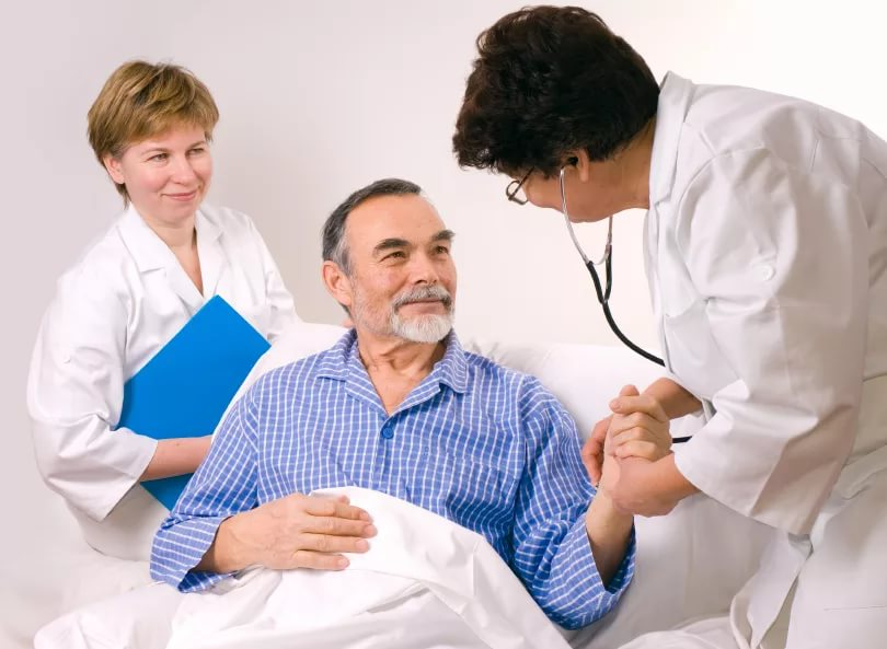 Врачи прогнозируют больному выздоровление